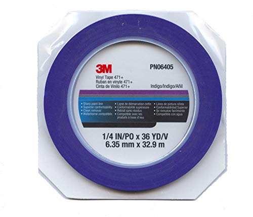 3M - 471 Scotch Konturenband blau 06405 (6.3mm, Länge 33m)