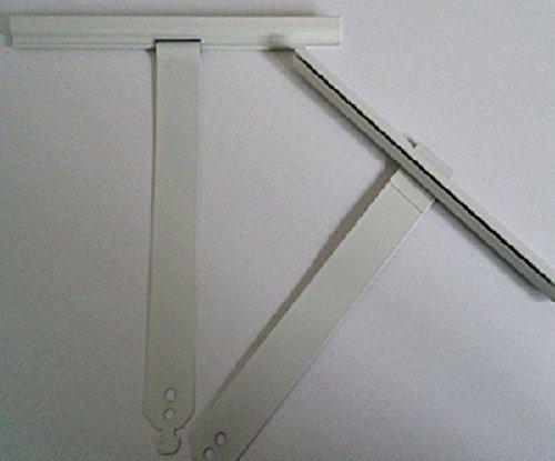 Bevestiging voor MAXI 190 mm - rolluik- ophangveer-stalen veer- drukisolatieveer- wit 10 stuks