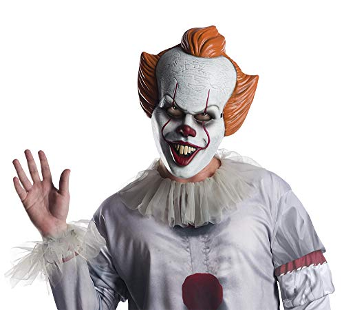 IT Mascara Pennywise Ad, multicolor, única (Rubies 201655
