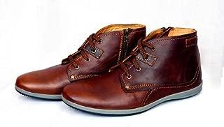 Mardi Gras Mens Leather Casual Shoe
