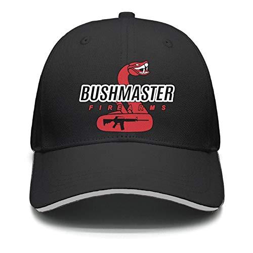 Lexic 77 Unisex Dad Cap Trucker-Bushmaster-Firearms-Hat Casual Breathable Baseball Snapback Lightweight