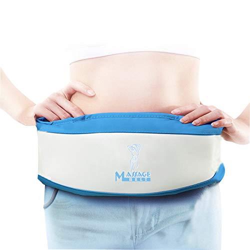 POEO Massagegürtel - Vibration Gewichtsverlust Massage Gürtel, mit Wärmefunktion Gewichtsverlust Massage für Bauch, Beine, Schenkel