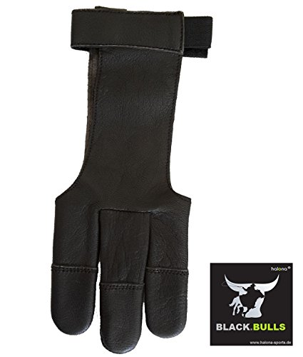 Schießhandschuh, Bogenhandschuh Halona Black.Bulls Grösse: XS-XL f. Bogensport (M)