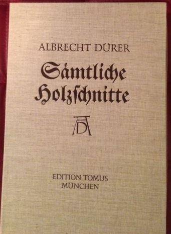Albrecht Dürers sämtliche Holzschnitte. 225 Tafeln mit Beiheft in Kassette.