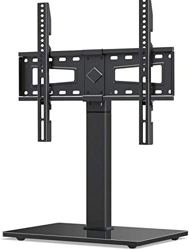 Universal TV Stand Swivel TV Stand Base Fits Most 37 to 70 Inch LCD LED Screens 9 Levels Height product image