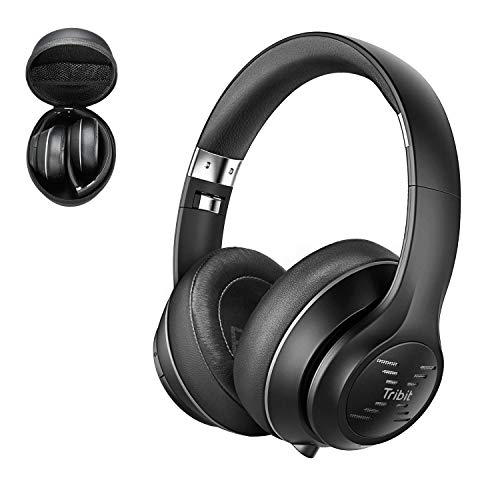 Tribit XFree Tune Bluetooth Headphones Over Ear - Wireless Headphones 40 Hrs Playtime, Hi-Fi Stereo Sound with Rich Bass, Built-in...