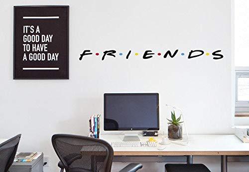 Friends Aufkleber Friends TV Show Wandtattoo Laptop Friends Aufkleber Macbook Friends Logo Wohnzimmer Wandtattoo Friends Büro
