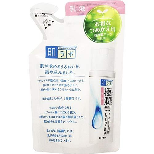 Rohto Hadalabo 2017ver Gokujun Hyaluron Emulsion Refill - 140ml (Green Tea Set)
