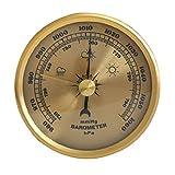 KLSAMNM Home Pressure Gauge Weather Station Wall Hanging Barometer Multifunction Thermometer Hygrometer