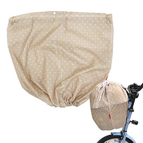 自転車カゴカバー 防水 バスケットカバー 籠カバー 自転車前かごカバー