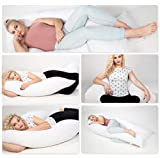 chilimilii 12 Ft Big U-shpaed pillow,Pregnancy Pillow, U-shaped full body pillow, Maternity Support