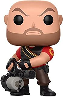 Funko Pop Games: Team Fortress 2 - Heavy Collectible Vinyl Figure