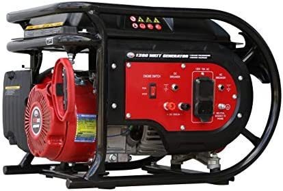 All Power America G1200 1600 Watt Portable Generator Gas Heavy Duty for Home Power Back Black product image