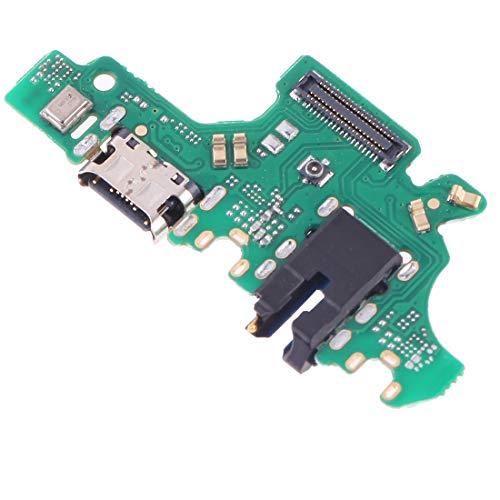 Repuesto de circuito de tarjeta puerto USB en conector jack de carga + micrófono llamadas DC Board Sync datos + auriculares compatibles con Huawei P30 Lite MAR-LX1M LX2J MAR-LX1A Nova 4E