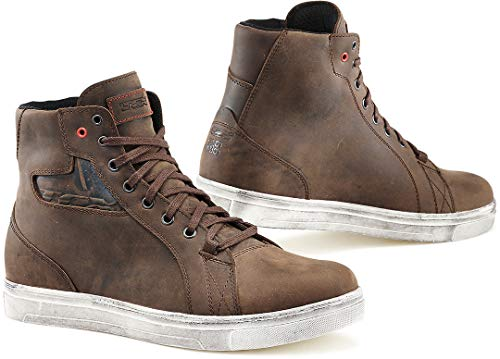 Motorcycle TCX Street Ace Boots Dakar WP Brown 42