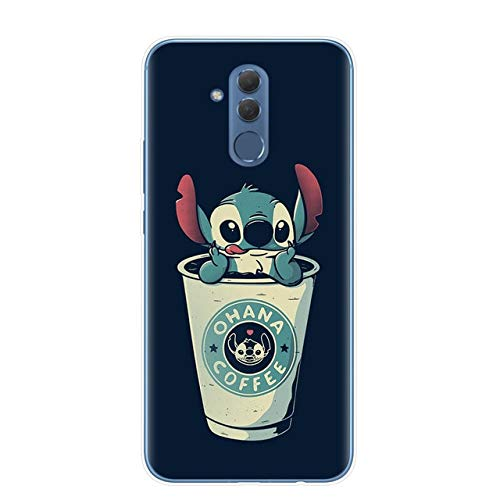 Cute Cartoon Stitch Soft TPU Phone Case para Fundas Huawei P30 P20 Mate 10 20 30 Lite Pro Y9 2019 Funda Coque Capa Fundas Shell