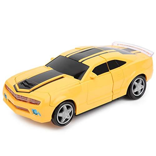 SALUTUYA Cars Robot para niños, Juguetes de Coche de Control Remoto con luz Musical, Robots de deformación, Juguete de Coche eléctrico para niños, niños y niñas