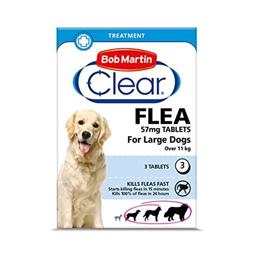 Bob Martin pulgas Tabletas Perro Gato todos los tamaños Oral Tratamiento - Dogs over 11kg