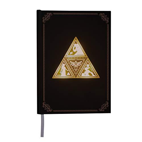 Triforce - Cuaderno con luz