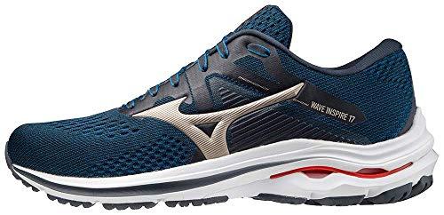 Mizuno Men's Wave Inspire 17 Running Shoe, India Ink, 12