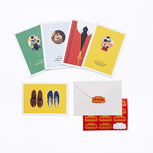 Mister Rogers' Neighborhood: 12 Note Cards with Envelopes and Golden Seals: All-Occasion Greetings to Make Anyone Feel Special