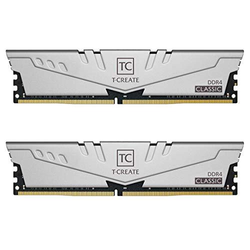 TEAMGROUP T-Create Classic 10L DDR4 16GB Kit (2 x 8GB) 3200MHz (PC4 25600) CL22 Desktop Memory Module Ram - TTCCD416G3200HC22DC01