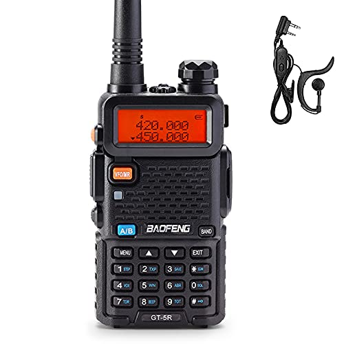 BAOFENG Upgraded Two Way Radio for Adults Long Range, Dual Band 144-148MHz & 420-450MHz FCC Compliant Walkie Talkies Rechargeable, Portable Ham Radio, VOX with Earpiece, Support Chirp. Buy it now for 29.99