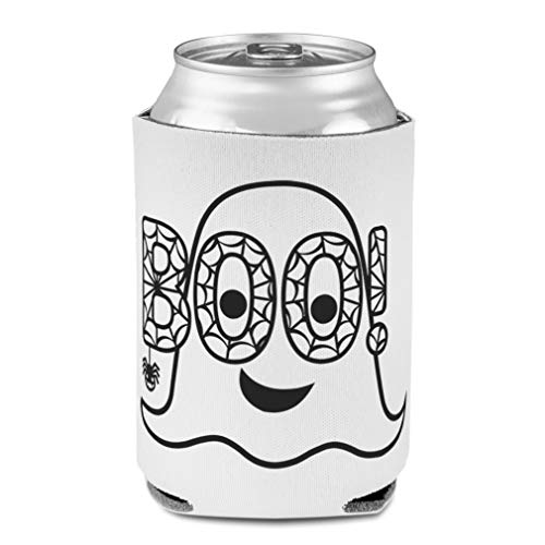 Koozies for Cans Drink Cooler Boo! Holidays and Occasions Halloween Scuba Foam Party Beer Cover