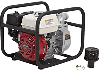 NorthStar Self-Priming Semi-Trash Water Pump - 2in. Ports, 10,010 GPH, 5/8in. Solids Capacity, 160cc Honda GX160 Engine