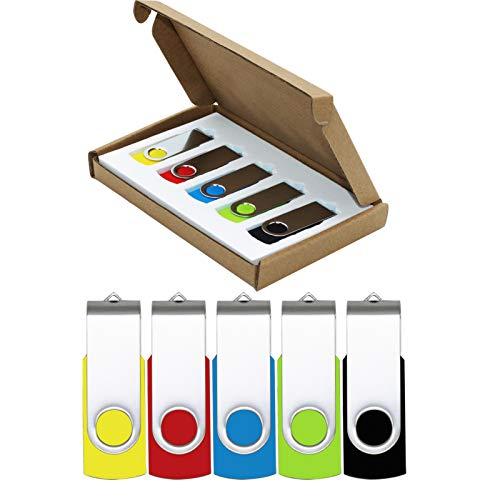 Image of USB Flash Drive 32GB 5 Pack...: Bestviewsreviews