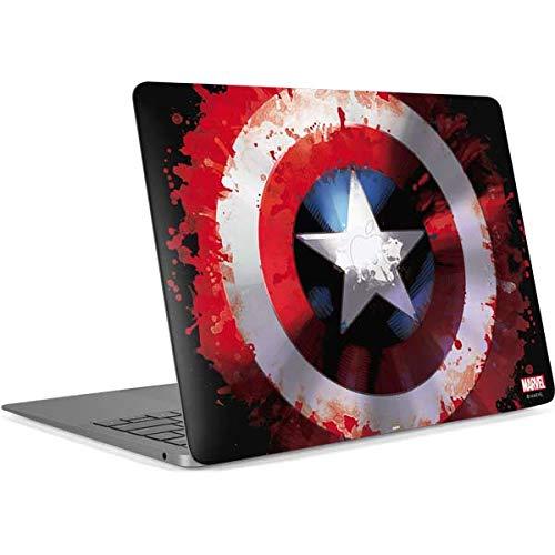 Skinit Decal Laptop Skin for MacBook Pro 16in (2019) - Officially Licensed Marvel/Disney Captain America Shield Design