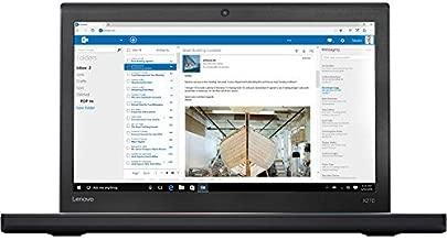 2018 Lenovo ThinkPad X270 12.5 Inch FHD IPS 1080P Laptop Computer (Intel Core i7-7500U 2.7GHz up to 3.5GHz, 16GB RAM, 256GB SSD, Intel HD Graphics 620, WiFi, Windows 10) Black (Renewed)