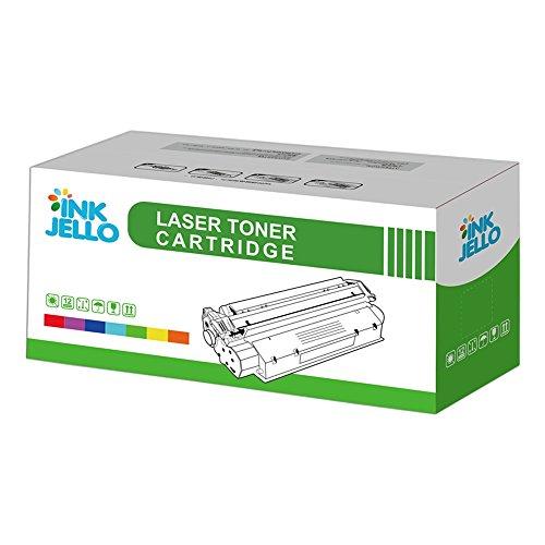 InkJello Kompatibel Toner Patrone Ersatz für HP Colour Laserjet CM3530 CM3530fs CP3520 CP3525 CP3525dn CP3525n CP3525x CE251A (Cyan, 1-Pack)