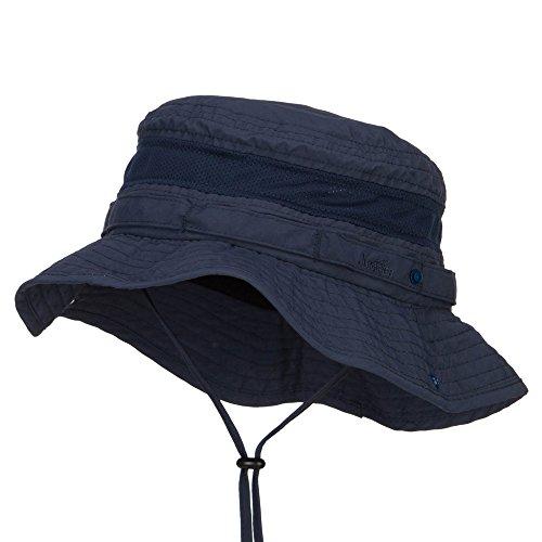 MG Big Size Talson UV Boonie Hat - Navy 2XL