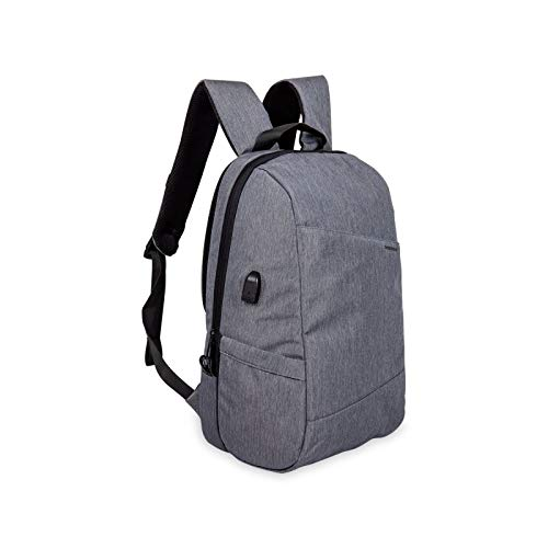 HBFLJYT Leisure Anti-Theft Backpack Laptop Bag, Gray Teenager Casual Sports Backpack Men's Business College Bookbags Travel Laptop Backpack