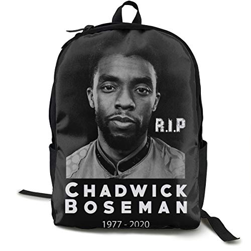 R.I.P Chadwick-Boseman Wa-Kanda for-Ever Fashionable Multifunction Casual Unisex School Bags Laptop Backpack Travel Bookbag College Shoulders Backpack