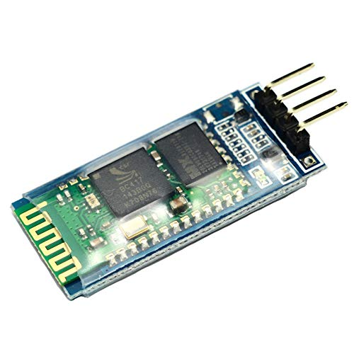 Partstower HC-06 Bluetooth Serial Pass-Through Module Wireless Serial Communication Compatible for Arduino HC06