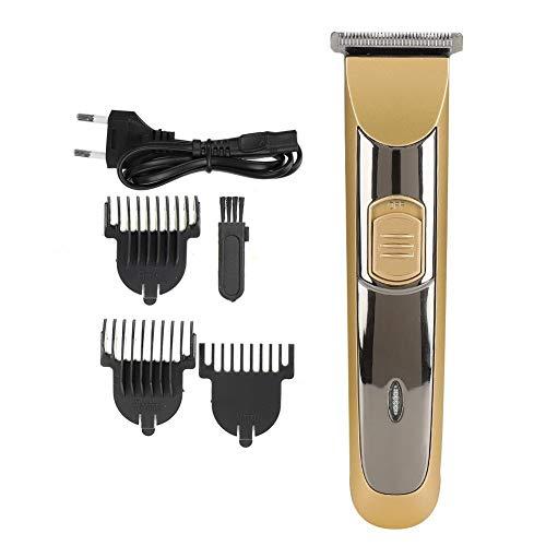Máquina de Cortar Pelo, Cortapelos Profesional Para Hombres, Recortador de Barba Maquinilla de Afeitar Electrica Inalámbrica con Batería Recargable&Impermeable (220V)