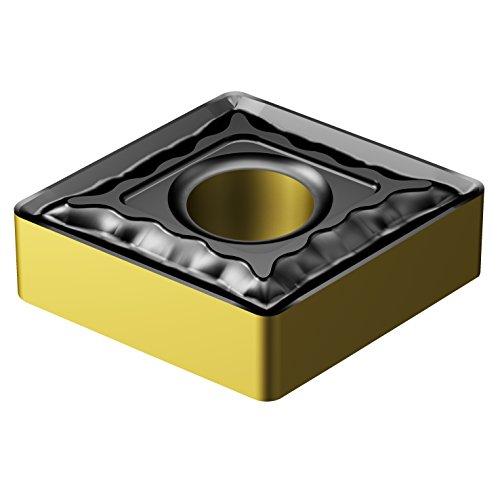 Sandvik Coromant, CNMG 643-QM 4315, T-Max P Insert for Turning, Carbide, Diamond 80°, Neutral Cut, 4315 Grade, Ti(C,N)+Al2O3+TiN, Inveio Coating Technology (Pack of 10)