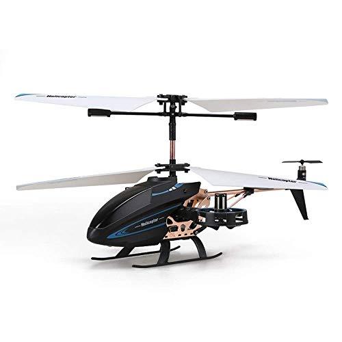 YQTXDS Resistencia a la caída de helicópteros de Control Remoto al Aire Libre, Mini Aeroplano de aleación de giroscopio, Adecuado para (Juguetes RC)