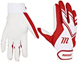 Marucci MBGF5-W/R F5 Batting Gloves, Large