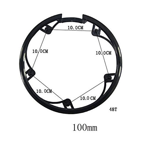 Joan Bicycle Chainring Sprockets Cranksets Guard Protector 48t 5 Bolts 100mm, Bike Chainstay Protector