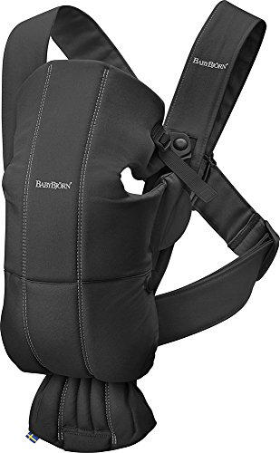 BABYBJÖRN Baby Carrier Mini Cotton Black