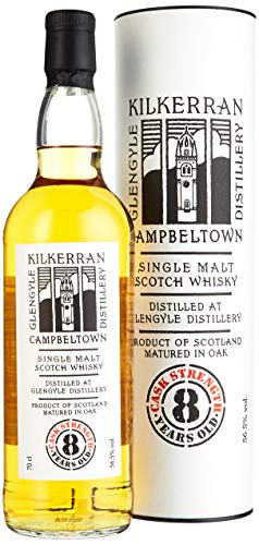 Kilkerran Glengyle 8 Years Old CASK STRENGTH Whisky (1 x 0.7 l)