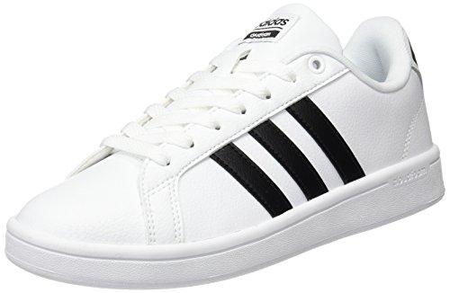 adidas Damen Cloudfoam Advantage Sneakers, Mehrfarbig (Schwarz/Weiß), 40 EU