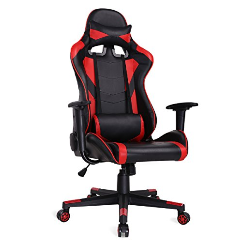Ergonomic Gaming Chair Racing Style...