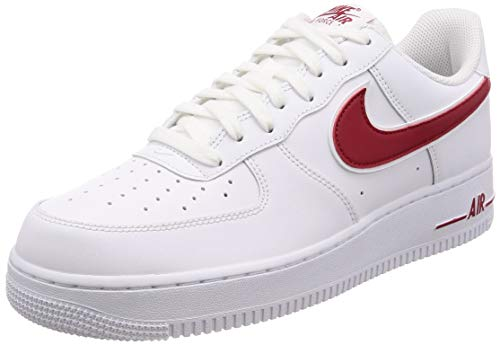 Nike Herren Air Force 1 '07 Sneaker, Weiß (White AO2423-102), 45 EU