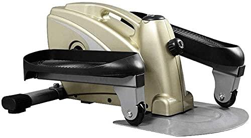Máquina de Mute de Mute para Adelgazar Máquina de Jogging para Adelgazar Mini Pedal Máquina Equipo de Fitness Multifuncional 120kg Rodamiento (Dimensiones: 60x45x30cm)