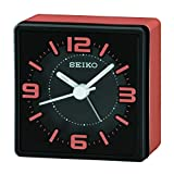 Seiko Sei Bedside Alarm Clock, Orange