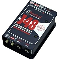 RADIAL J48 MK2 Direct BOX ラディアル アクティブ ダイレクト ボックス 48V ファントム電源駆動 『並行輸入品』